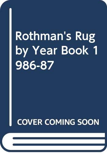 9780356123608: Rothman's Rugby Year Book 1986-87