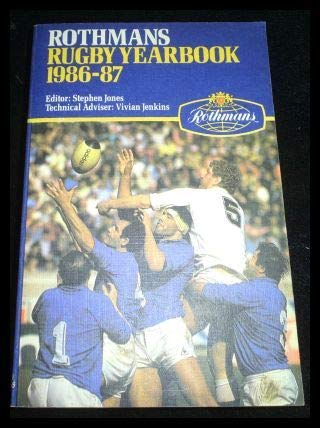 9780356123615: Rothman's Rugby Year Book 1986-87