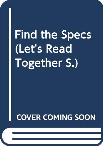 Find the Specs (Let's Read Together S) (035613198X) by Storr, Catherine