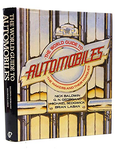 9780356142784: World Guide to the Automobile