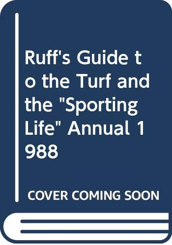 Ruff's Guide to the Turf and The: Cox, D (ed)