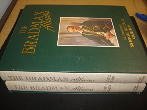 9780356154114: THE BRADMAN ALBUMS: SELECTIONS FROM SIR DONALD BRADMAN'S OFFICIAL COLLECTION