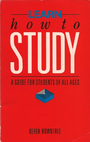 9780356155333: Learn How to Study