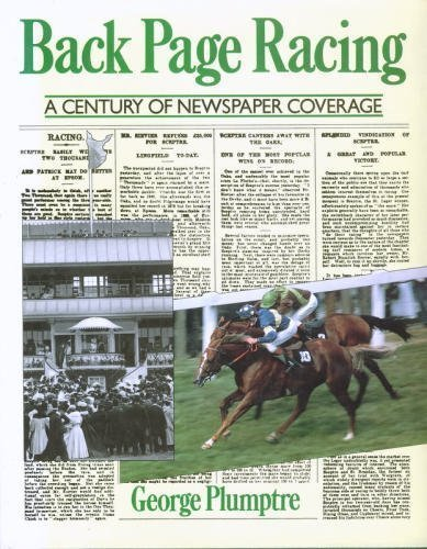 Back Page Racing: George Plumptre