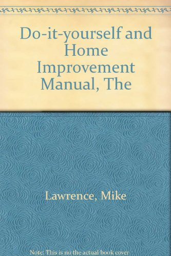 9780356178479: Do-it-yourself and Home Improvement Manual