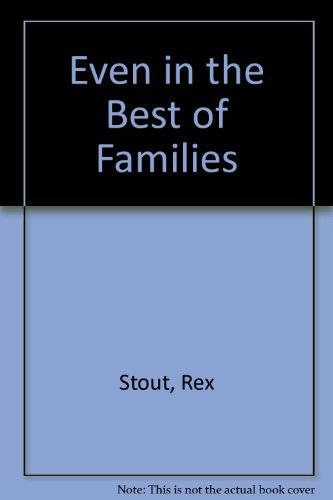 9780356201078: Even in the Best Families