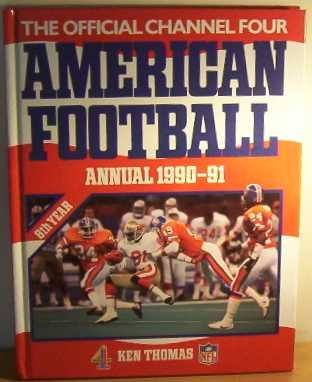 9780356202594: Official Channel Four American Football Annual