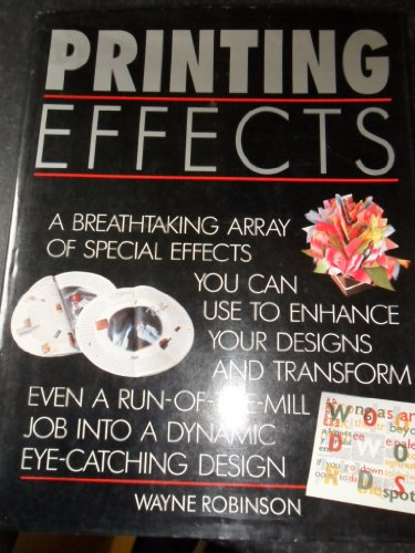 9780356202716: Printing Effects