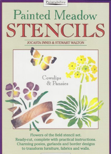9780356206431: Painted Meadow Stencils - Cowslips and Pansies (Bk. 4)