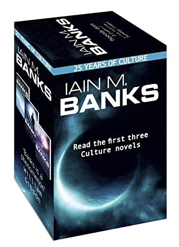 9780356502090: Iain M. Banks Culture - 25th anniversary box set: Consider Phlebas, The Player of Games and Use of Weapons