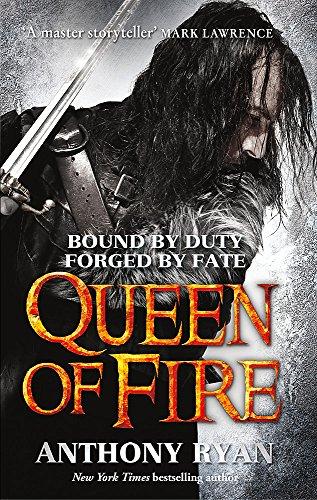 9780356502519: Queen of Fire (Raven's Shadow)