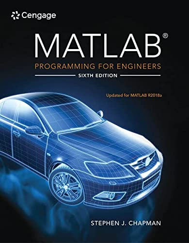 9780357030394: MATLAB Programming for Engineers