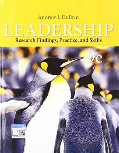 9780357042496: Leadership: Research Findings, Practice, and Skills