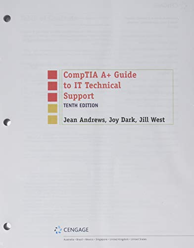 9780357108369: CompTIA A+ Guide to IT Technical Support, Loose-leaf Version (MindTap Course List)