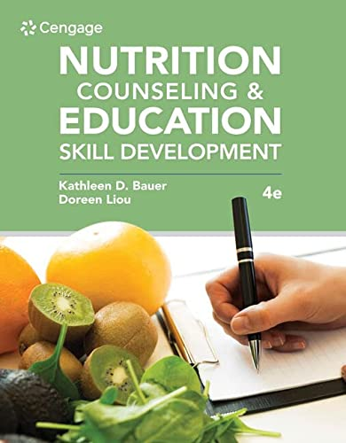 9780357367667: Nutrition Counseling and Education Skill Development (MindTap Course List)
