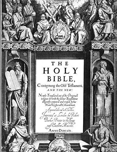 The Holy Bible a Bíblia Sagrada Vol.: King James Version
