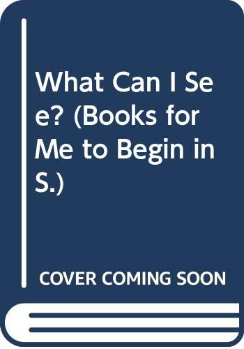 What Can I See? (Books for Me: Ronald Ridout
