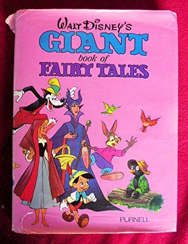 Walt Disney's Giant Book Of Fairy Tales: Disney, Walt