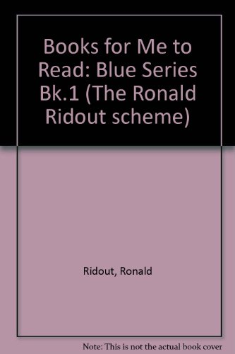 Books for Me to Read: Blue Series: Ronald Ridout