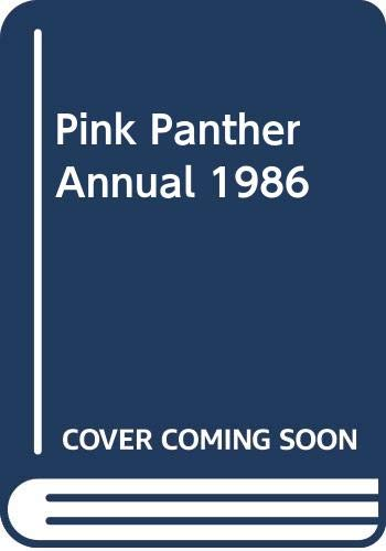 9780361067720: Pink Panther Annual 1986