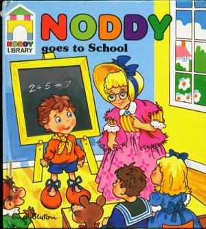 9780361074438: Noddy Goes to School (Noddy Library)