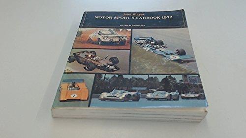 John Player Motor Sport Yearbook 1972: Gill, Barry