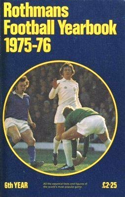 9780362002195: Rothmans Football Yearbook 1975-76