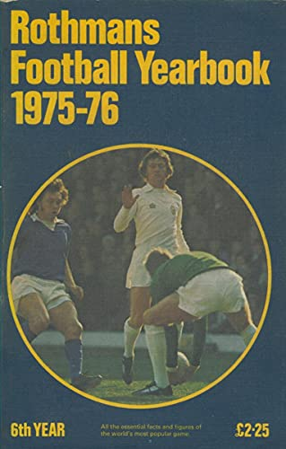 9780362002218: Rothmans Rugby Yearbook 1975-76