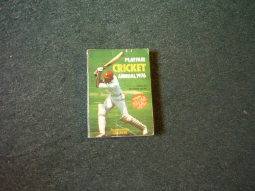 Playfair Cricket Annual 1976
