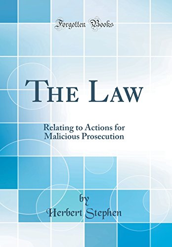 9781240152544: The law relating to actions for malicious