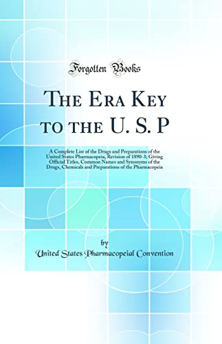 The Era Key to the U. S.: Convention, United States