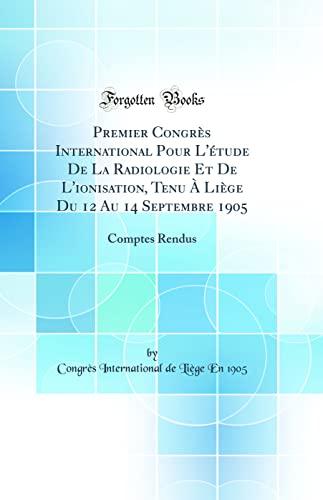 Premier Congr s International Pour l' tude: Congres International de