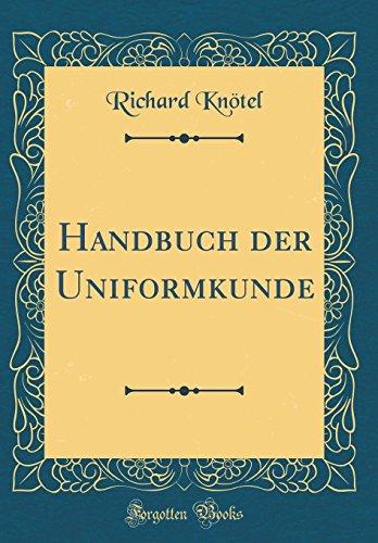 9780366179695: Handbuch der Uniformkunde (Classic Reprint)