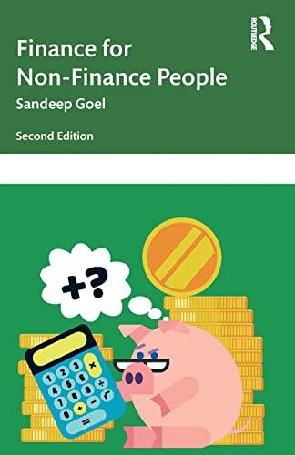 Finance for Non-Finance People: Goel, Sandeep