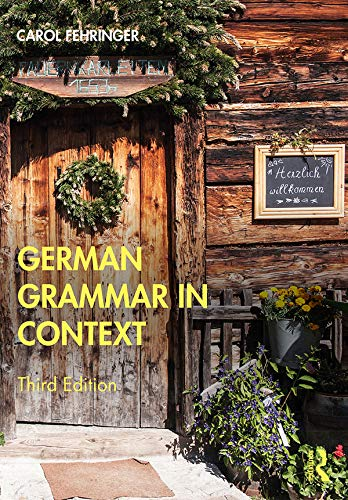 9780367186616: German Grammar in Context (Languages in Context)