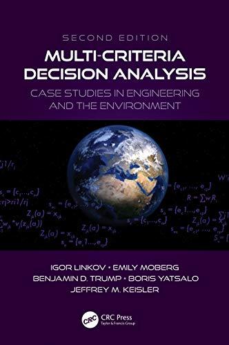 Multi-Criteria Decision Analysis : Case Studies in: Igor (US Army