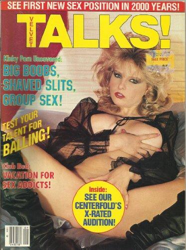9780368937132: VELVET TALKS ADULT MAGAZINE SEPTEMBER 1996 BIG BOOBS SHAVED SLITS GROUP SEX!