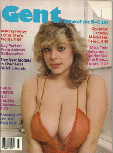 9780368937194: GENT ADULT MAGAZINE OCTOBER 1986 KAY PARKER BOBBI BENTON!