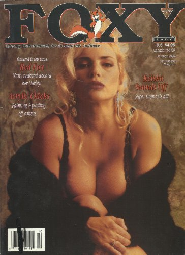 9780368937217: FOXY LADY ADULT MAGAZINE KEISHA RED FOX OCTOBER 1992!