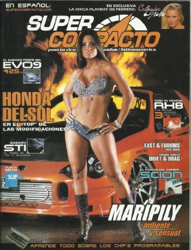 9780368937736: SUPER COMPACTO EN ESPANOL MAY/JUNE 2006 CON HONDA DEL SOL, EL RABIOSO PODER DEL EV09 425 HP, MARIPILY ARDIENTE Y SENSUAL, Y MAS!