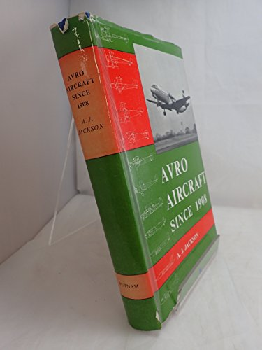 9780370000510: Avro Aircraft Since 1908