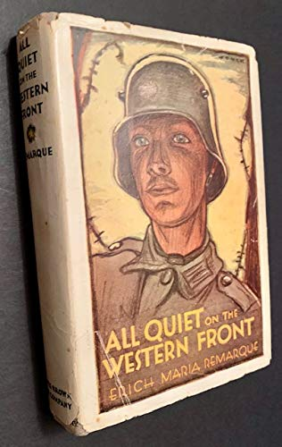 9780370000763: All Quiet on the Western Front
