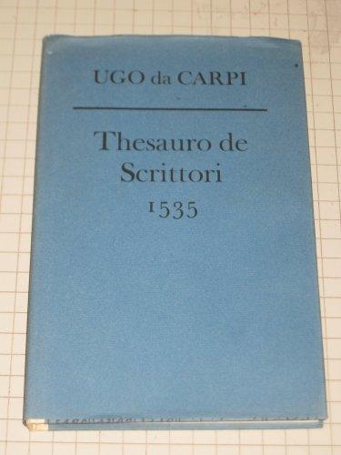 Thesauro De Scrittori: Ugo Da Capri