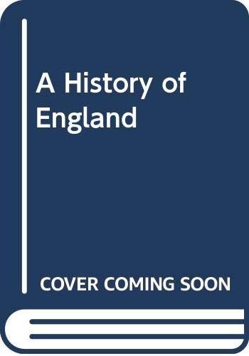 9780370002286: A History of England