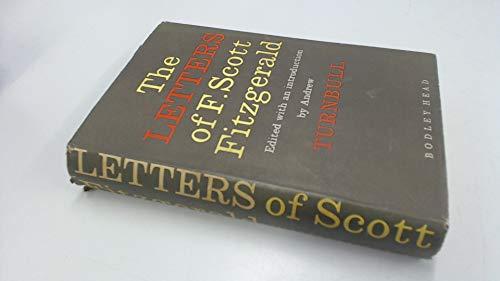 9780370003184: The letters of F. Scott Fitzgerald