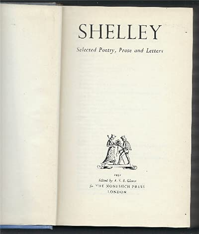 9780370005164: Shelley Selected Works - Shelley