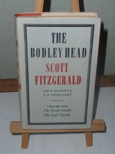 9780370005287: The Bodley Head Scott Fitzgerald: v. 1