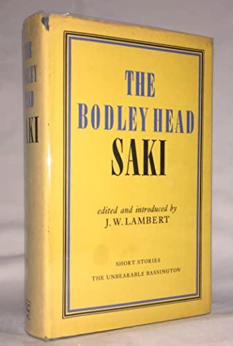 The Bodley Head Saki: Saki