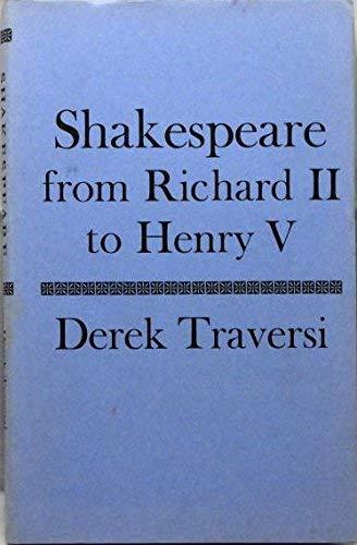 9780370006697: Shakespeare from Richard II to Henry V
