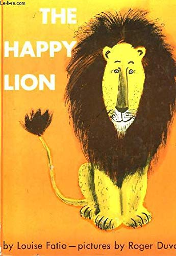 9780370007052: The Happy Lion